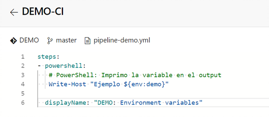 Azure Pipeline demo